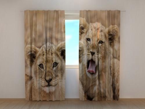 """Naktinės užuolaidos """"Du liūtukai"""""""