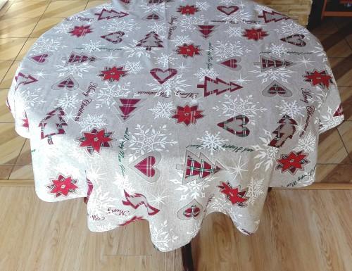 """Kalėdinė staltiesė """"Merry christmas"""""""